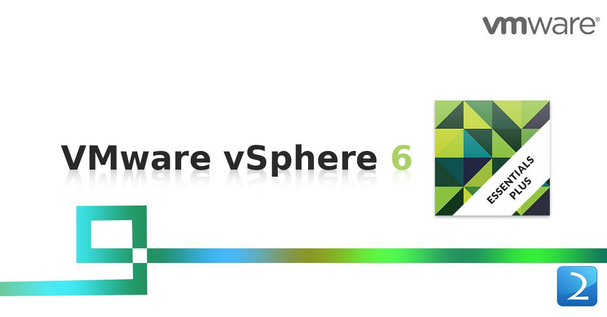 VMware vSphere 6 Essentials Plus (3 SERVER 6 CPU)